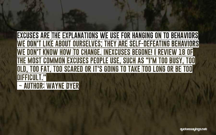 Defeating Someone Quotes By Wayne Dyer