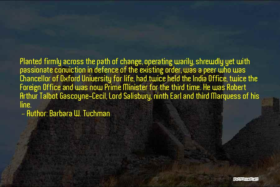 Defence Quotes By Barbara W. Tuchman