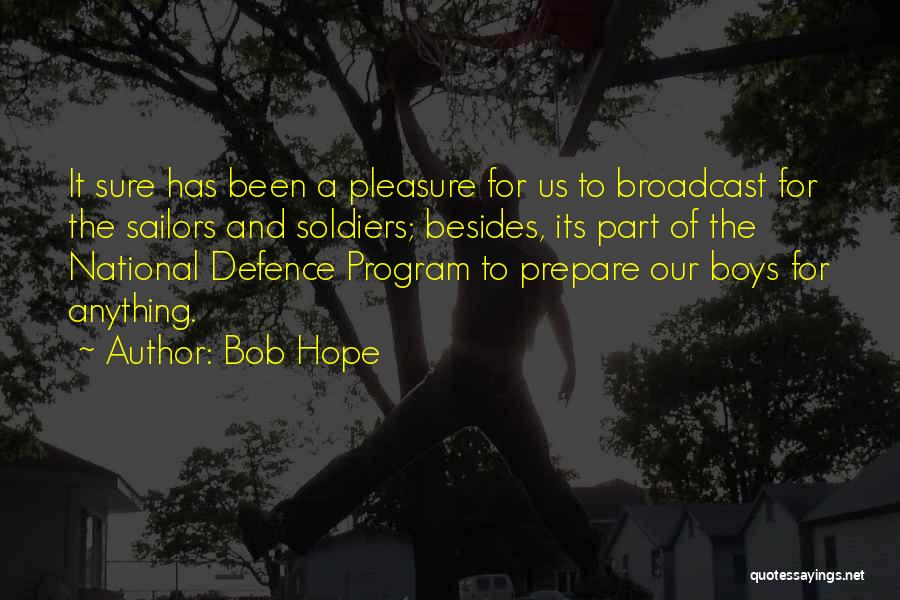 Defence Quotes By Bob Hope