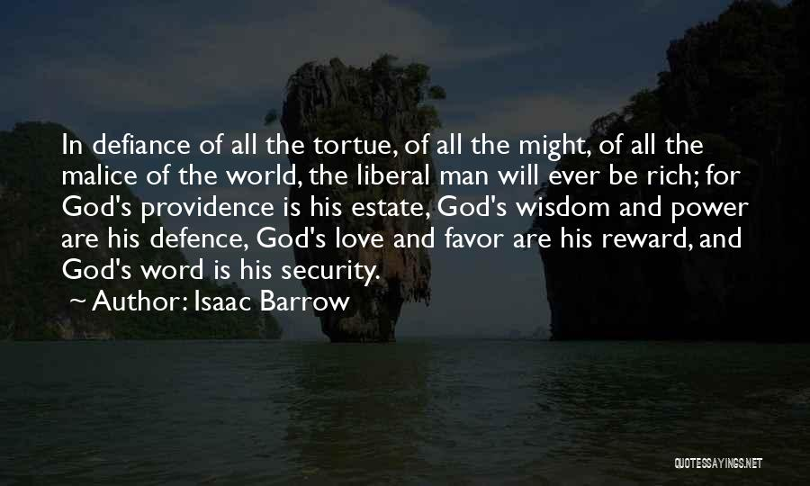 Defence Quotes By Isaac Barrow