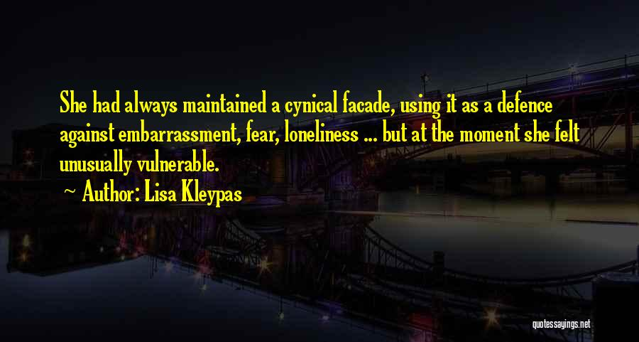 Defence Quotes By Lisa Kleypas