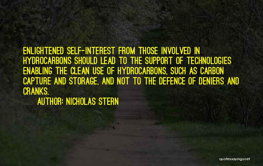 Defence Quotes By Nicholas Stern