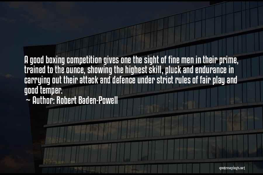 Defence Quotes By Robert Baden-Powell