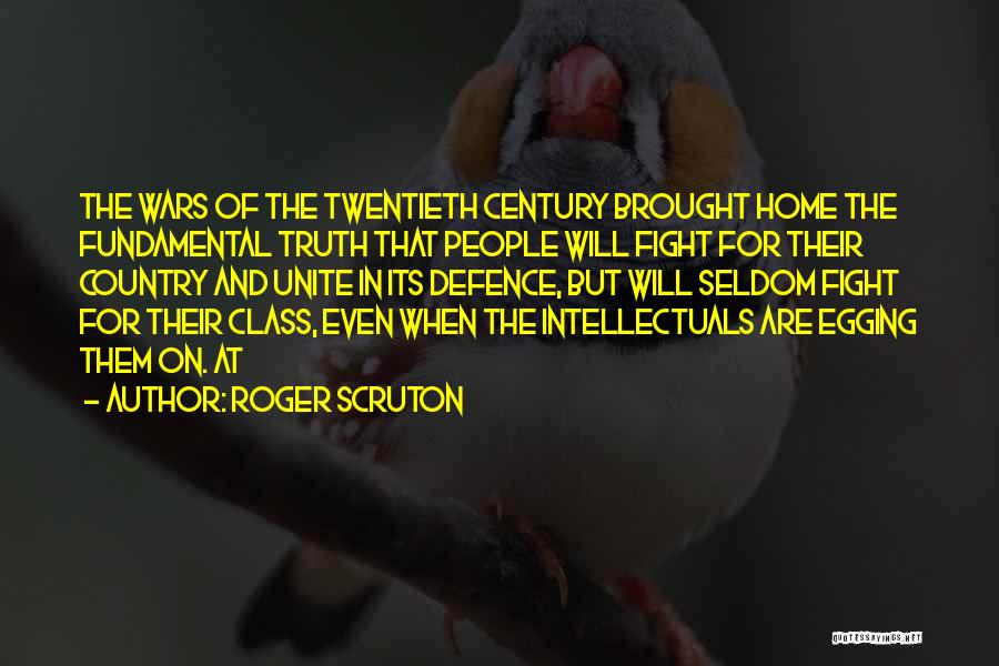 Defence Quotes By Roger Scruton