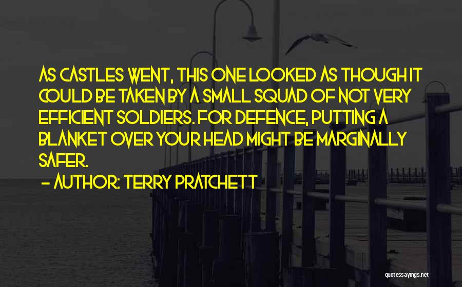 Defence Quotes By Terry Pratchett