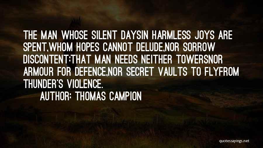 Defence Quotes By Thomas Campion
