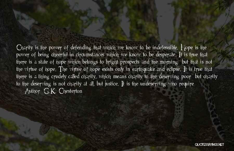 Defending The Indefensible Quotes By G.K. Chesterton