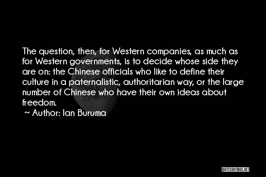 Define Culture Quotes By Ian Buruma