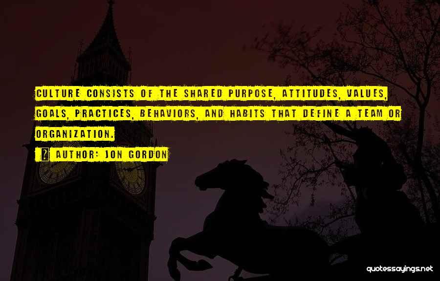 Define Culture Quotes By Jon Gordon