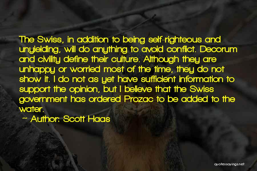 Define Culture Quotes By Scott Haas