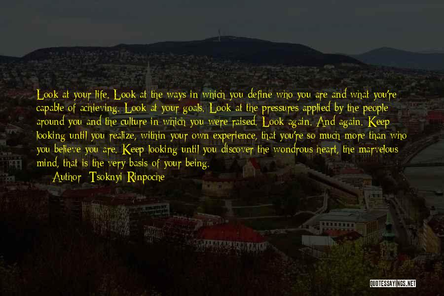 Define Culture Quotes By Tsoknyi Rinpoche