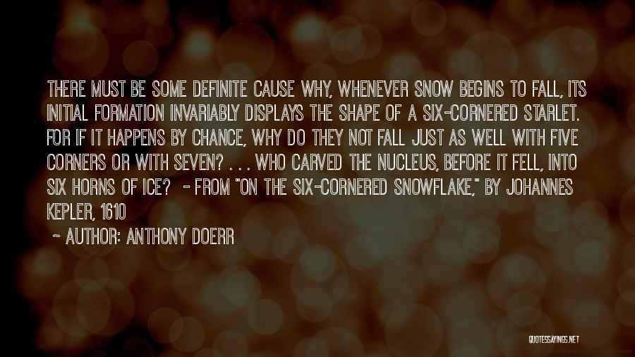 Definite Quotes By Anthony Doerr