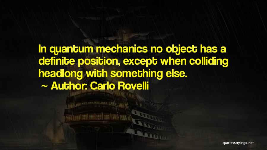 Definite Quotes By Carlo Rovelli