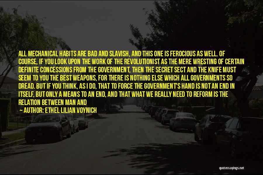 Definite Quotes By Ethel Lilian Voynich