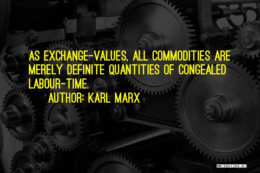 Definite Quotes By Karl Marx