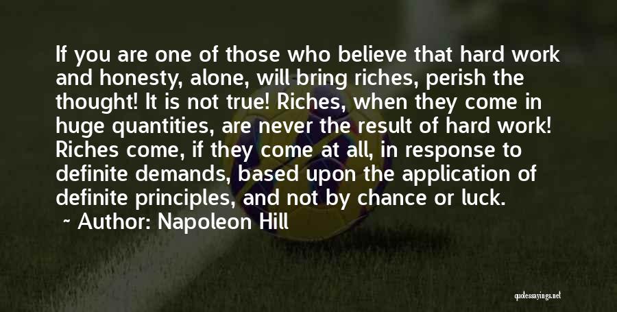 Definite Quotes By Napoleon Hill
