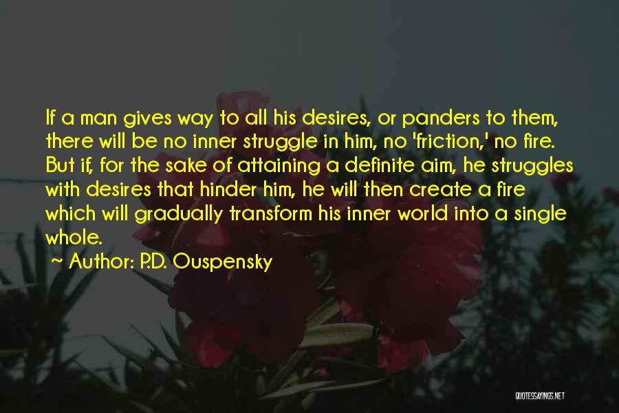Definite Quotes By P.D. Ouspensky