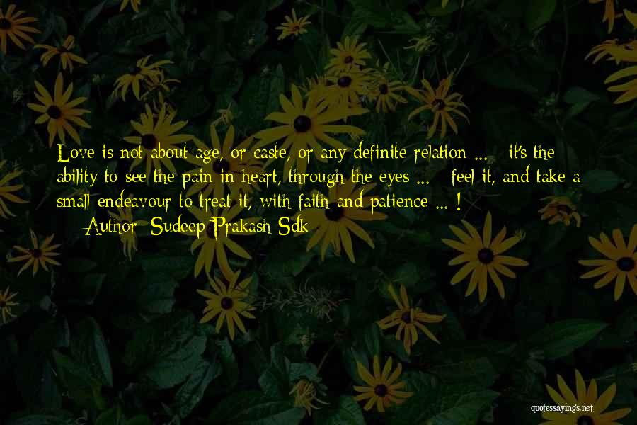 Definite Quotes By Sudeep Prakash Sdk