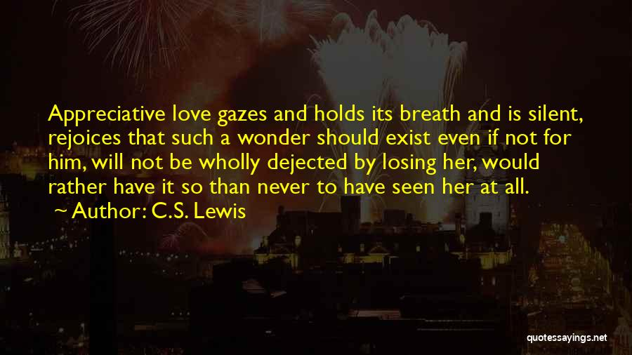 Dejected Quotes By C.S. Lewis