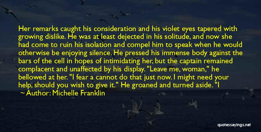 Dejected Quotes By Michelle Franklin