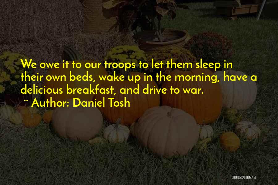 Delicious Breakfast Quotes By Daniel Tosh