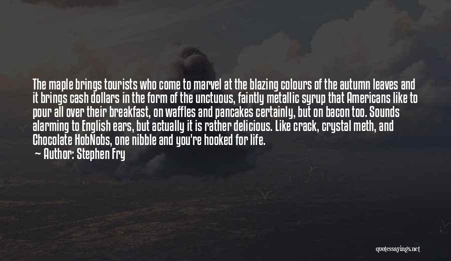 Delicious Breakfast Quotes By Stephen Fry