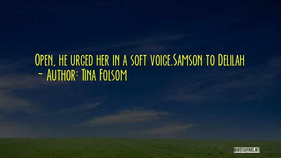 Delilah Quotes By Tina Folsom