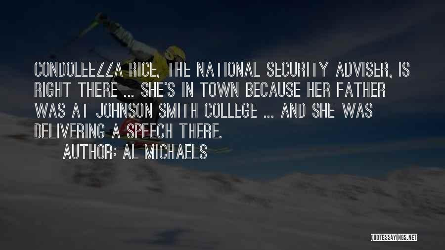 Delivering Speech Quotes By Al Michaels