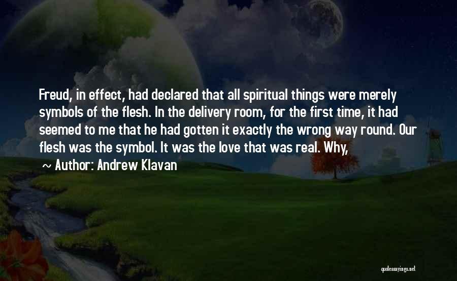 Delivery Room Quotes By Andrew Klavan