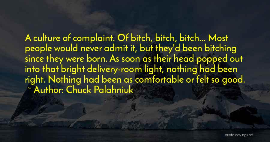 Delivery Room Quotes By Chuck Palahniuk