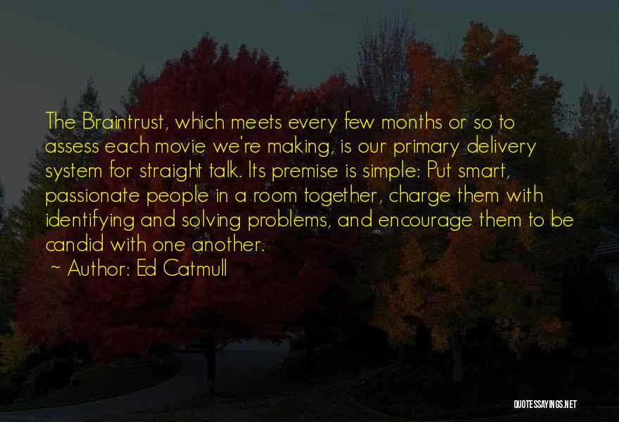 Delivery Room Quotes By Ed Catmull
