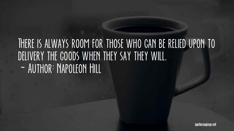 Delivery Room Quotes By Napoleon Hill