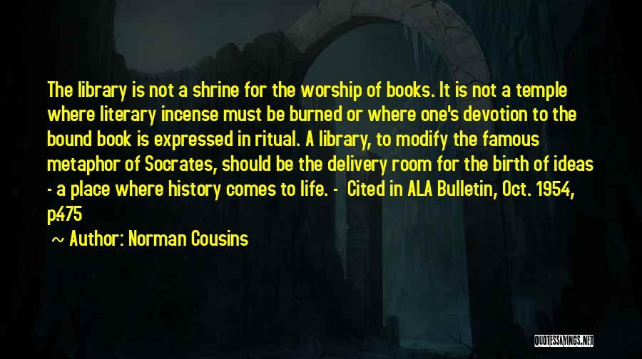 Delivery Room Quotes By Norman Cousins
