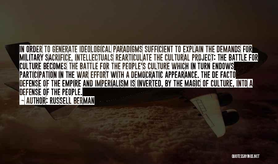 Democratic Participation Quotes By Russell Berman