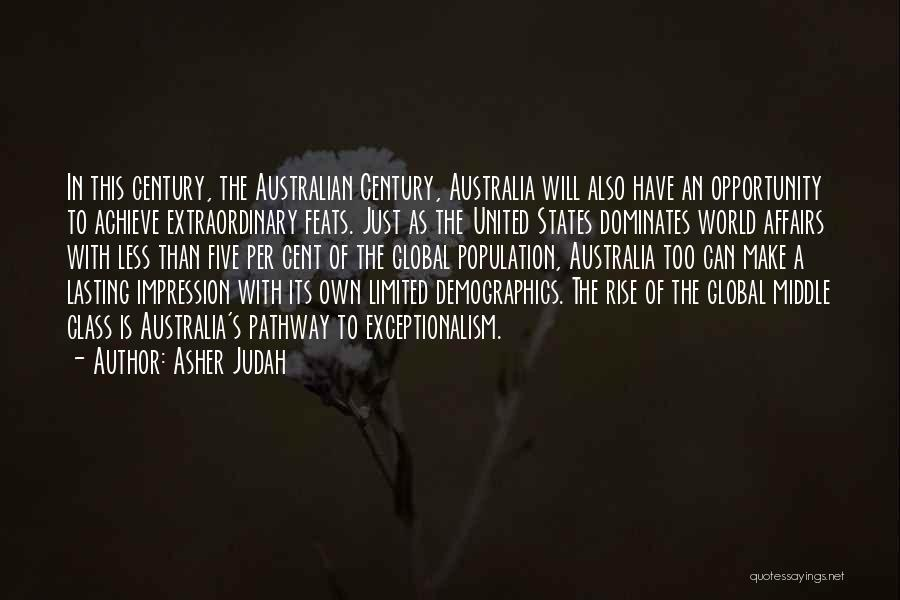 Demographics Quotes By Asher Judah