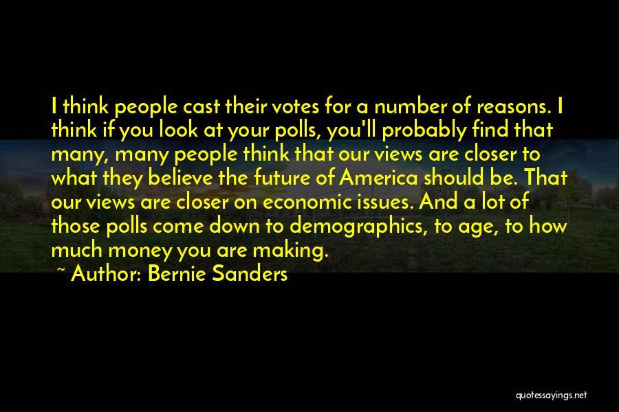 Demographics Quotes By Bernie Sanders