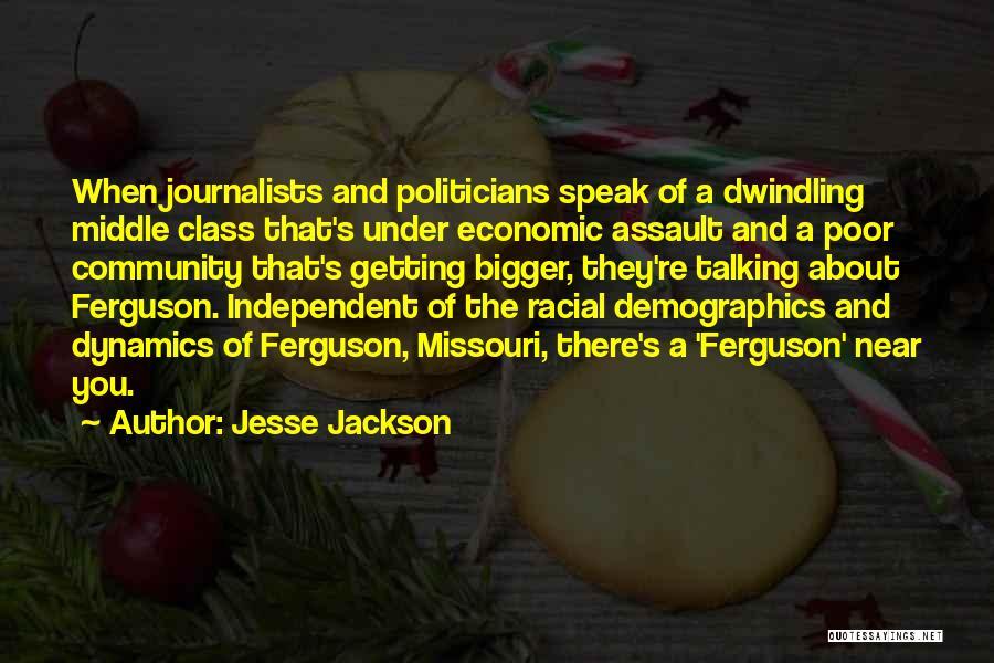 Demographics Quotes By Jesse Jackson