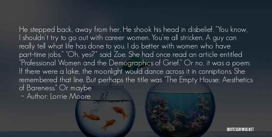 Demographics Quotes By Lorrie Moore