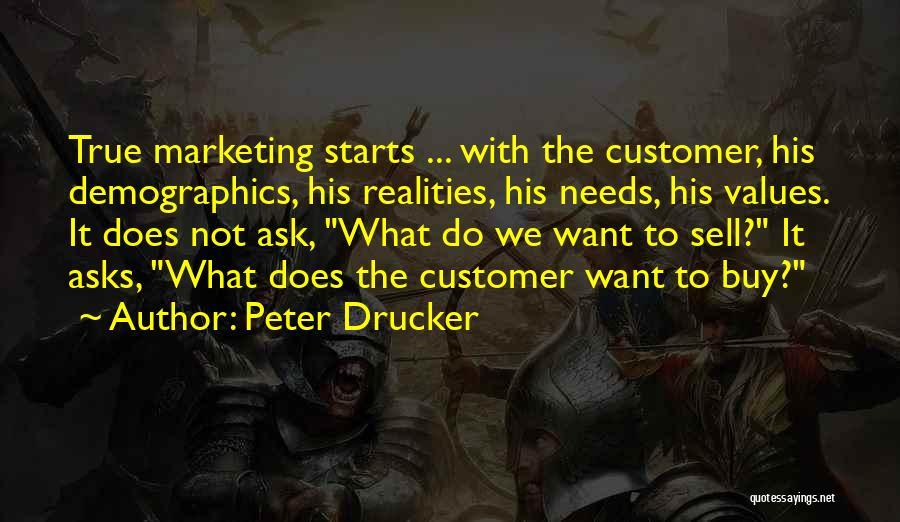 Demographics Quotes By Peter Drucker