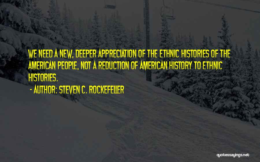 Demographics Quotes By Steven C. Rockefeller