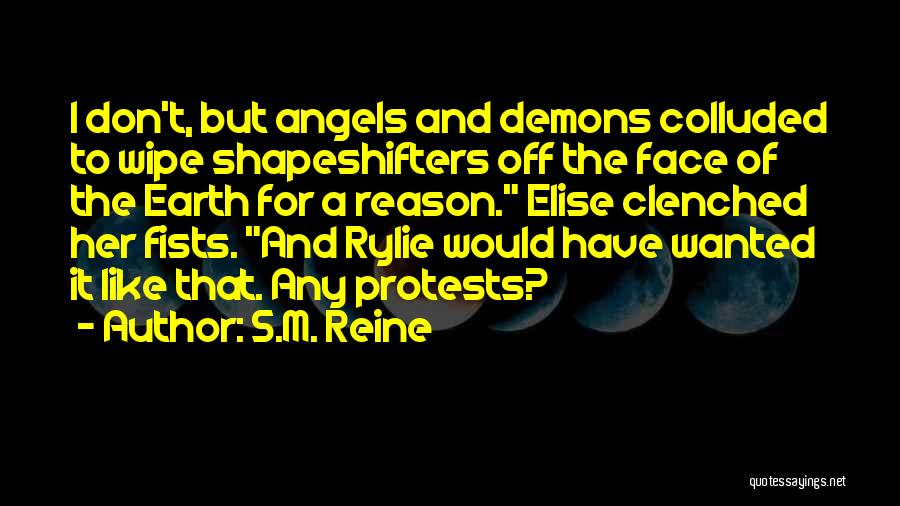 Demons On Earth Quotes By S.M. Reine