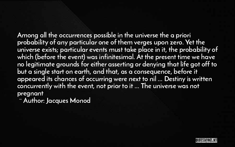 Denying Science Quotes By Jacques Monod