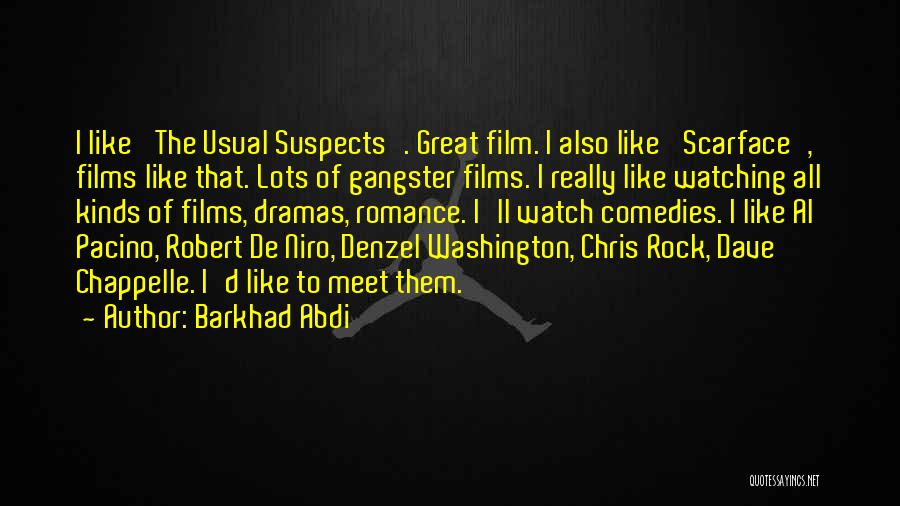 Denzel Washington Film Quotes By Barkhad Abdi