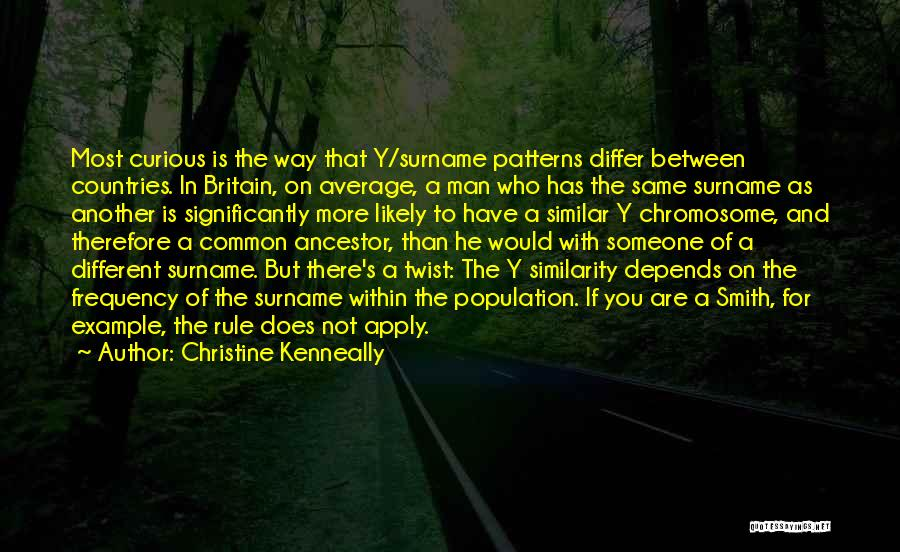 Depends On Someone Quotes By Christine Kenneally