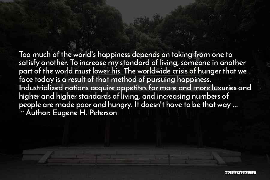 Depends On Someone Quotes By Eugene H. Peterson