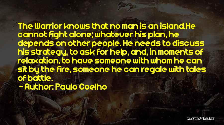 Depends On Someone Quotes By Paulo Coelho