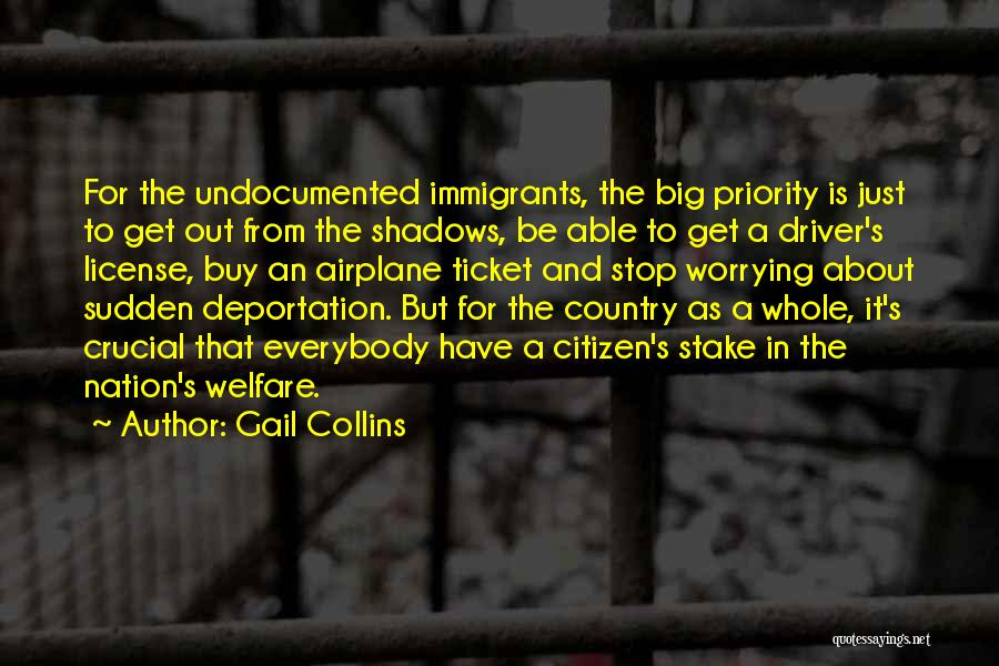 Deportation Quotes By Gail Collins