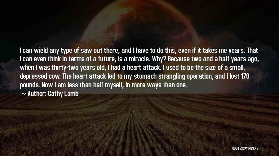 Depressed Heart Quotes By Cathy Lamb