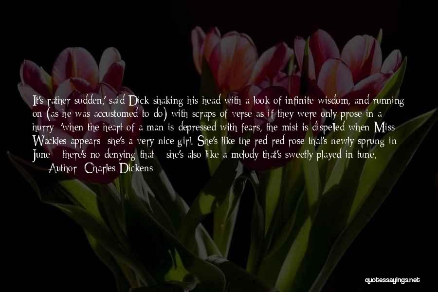 Depressed Heart Quotes By Charles Dickens
