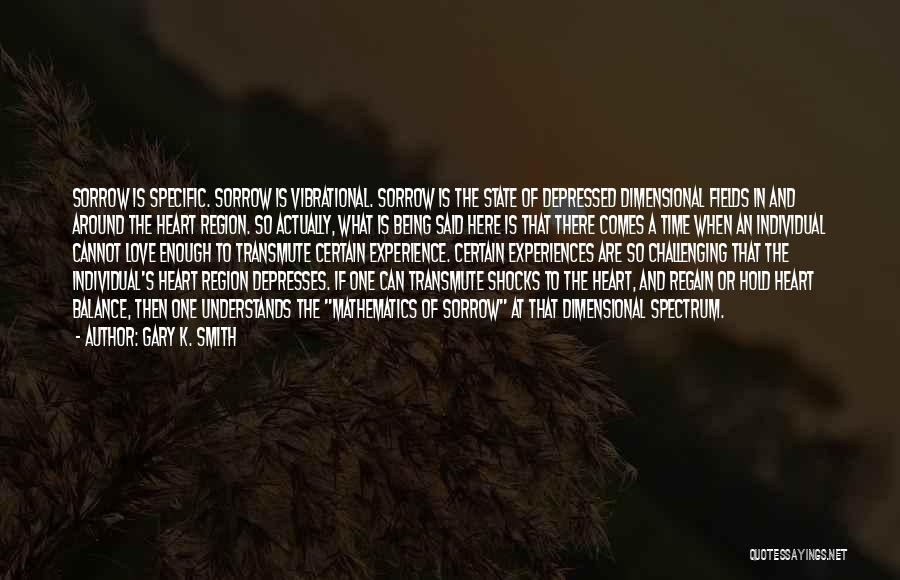 Depressed Heart Quotes By Gary K. Smith